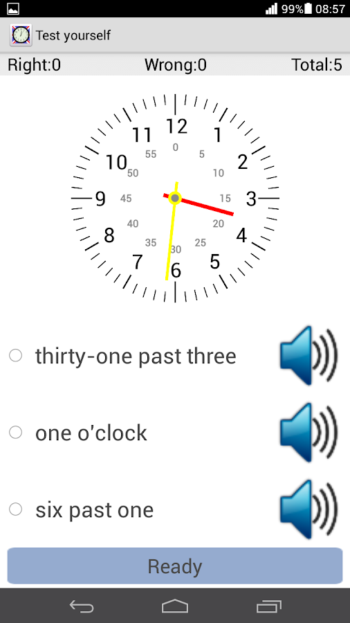 Tell Time In English- screenshot