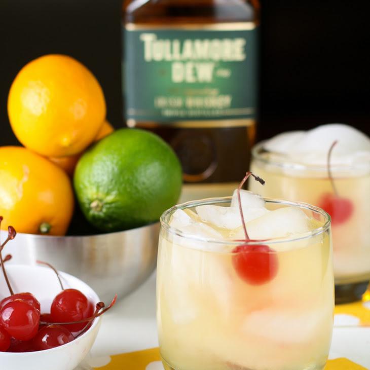 Meyer Lemon Whiskey Sours Recipe