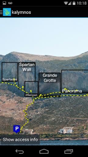 【免費運動App】Kalymnos Rock Climbing Topo-APP點子