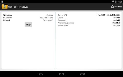 WiFi Pro FTP Server v1.5.9