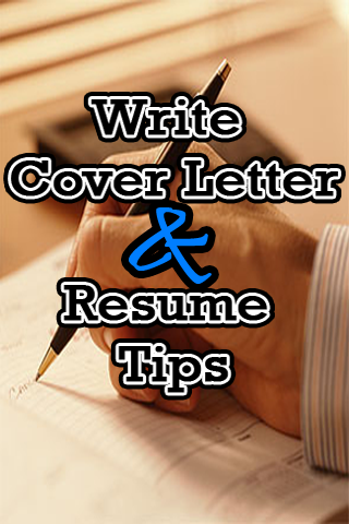 Write Cover Letter&Resume Tips - screenshot