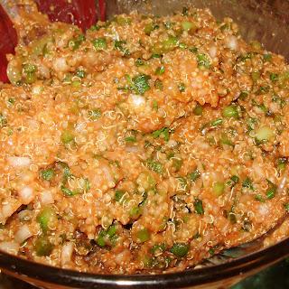 Quinoa Eetch (Red Quinoa Tabouli)