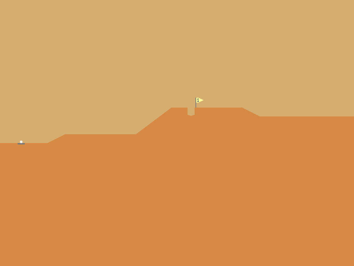 Desert Golfing- screenshot