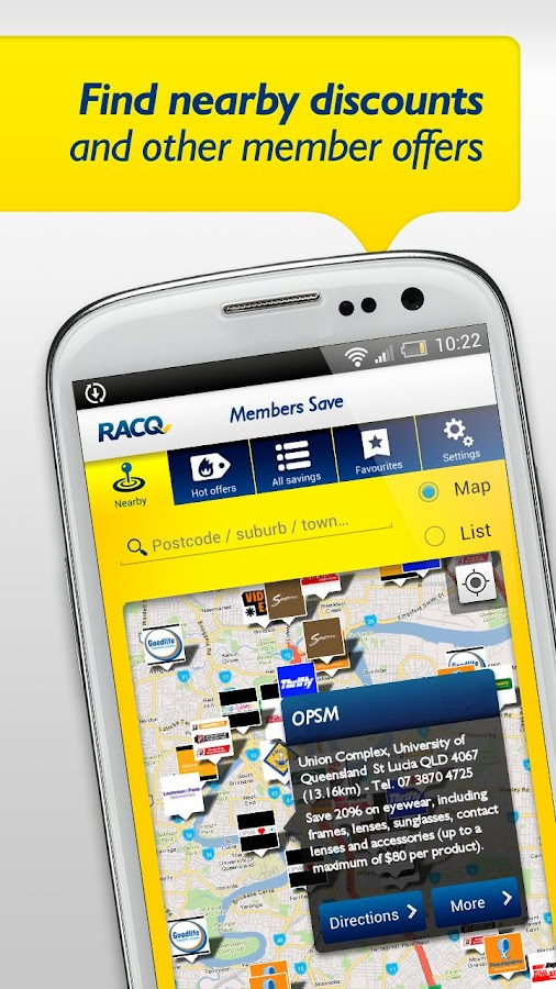 RACQ Mobile Services - screenshot