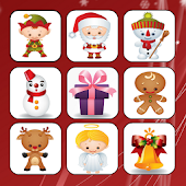 Kids Christmas Memory Game