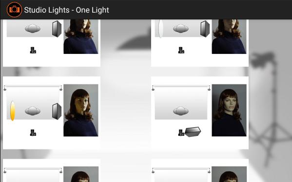 lighting schemes. Studio Lights- Screenshot Lighting Schemes S
