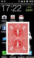 Screenshot of Magic card in mobile