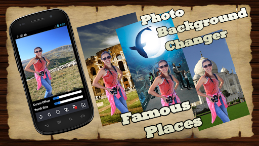 Fame places - photo background