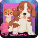 Pet Salon Free - Kids Spiel icon