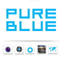 Pureblue GO LauncherEX Theme icon