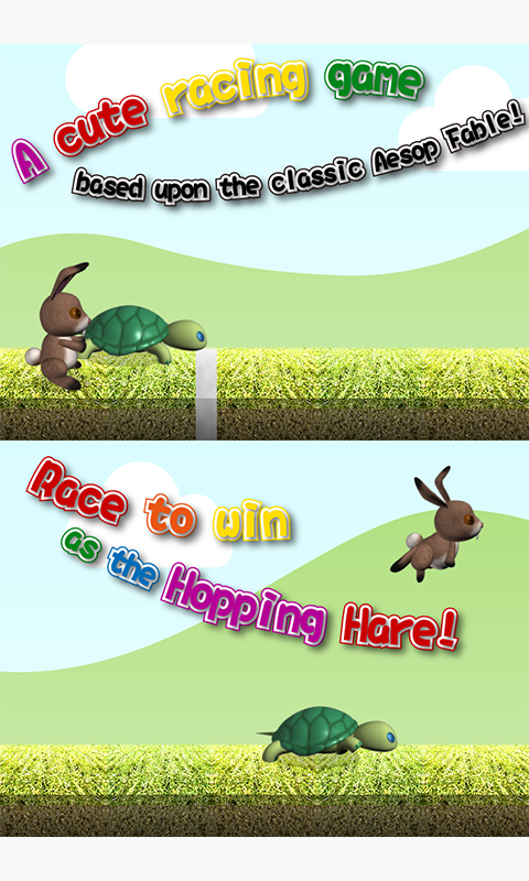 the Tortoise and the Hare Race- screenshot