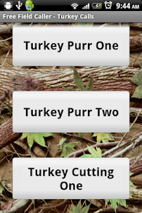 Free Field Caller-Turkey Calls- screenshot thumbnail