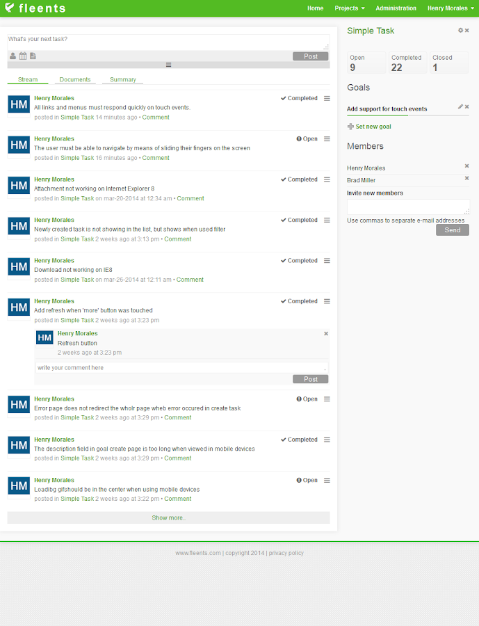 Task Management Tool- screenshot