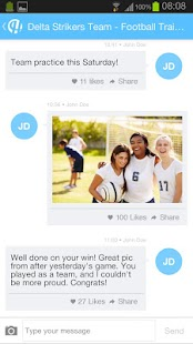Hedzup Messenger screenshot