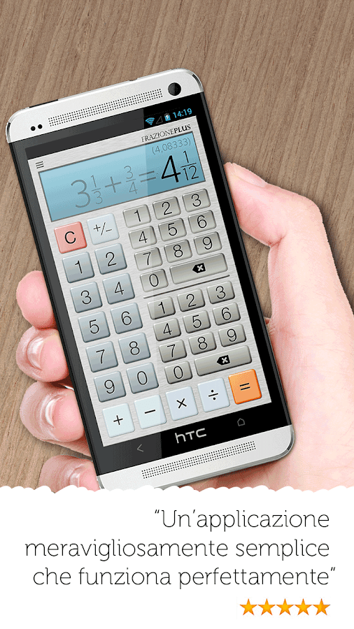 Calcolatore di frazione gratis app android su google play for Lista punch per la costruzione di nuove abitazioni