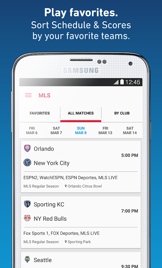 MLS - screenshot
