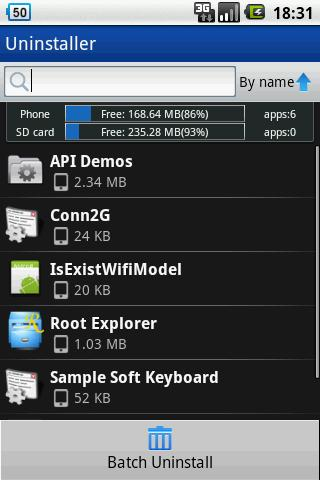 ZDbox only for android 1.5 - screenshot
