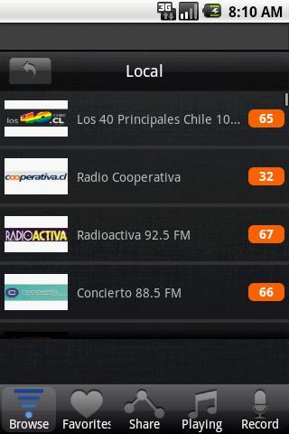 【免費音樂App】智利廣播電台-APP點子