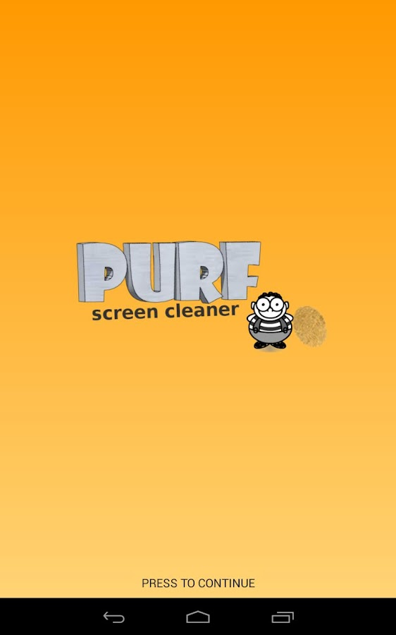 Purf Screen Cleaner - Free!- screenshot