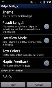Calculator Widget v1.1.4