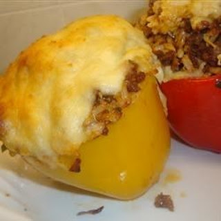 South-of-the-Border Stuffed Peppers.