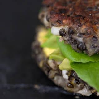 Vegetarian Lentil Burger.