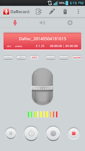 High Quality Voice Recorder Screenshot