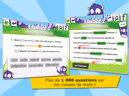 Les classes de mots- screenshot thumbnail