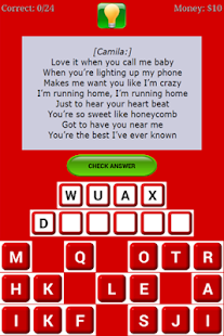Game Quiz Lyrics - Fifth Harmony APK for Windows Phone