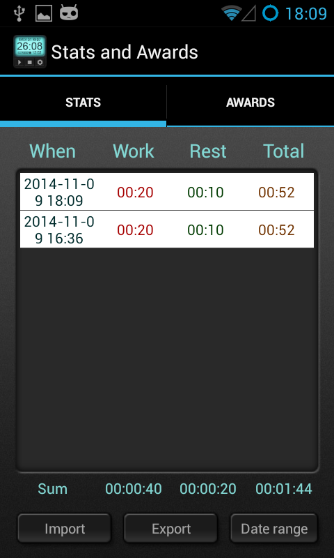 Interval Timer 4 HIIT Training - screenshot