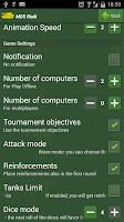 Screenshot of MDS Risik