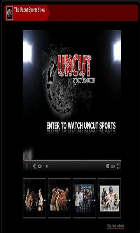Uncut Sports Show - screenshot