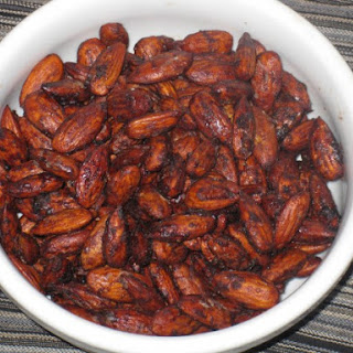 Carob or Chocolate-Coated Almonds.