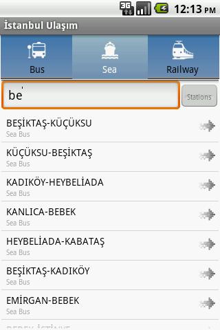 Istanbul Ulasim - screenshot