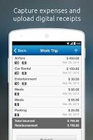 Screenshot of Replicon Mobile