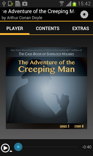 Adventure of the Creeping Man