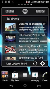 News Widget- screenshot thumbnail