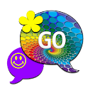 Psychedelic60GO SMS THEME icon