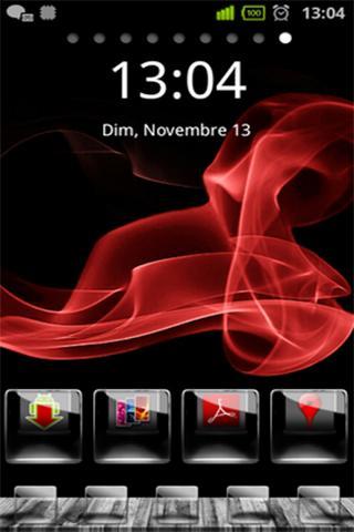 Glossy HD FREE Theme Go locker