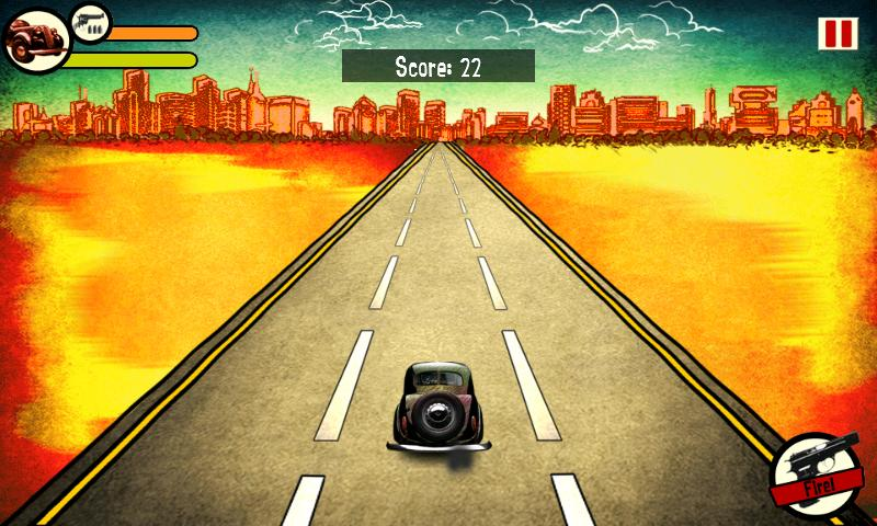 Retro Run Racing League - screenshot