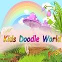 Kids Doodle World FREE icon