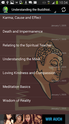 Buddhism Audio Lectures