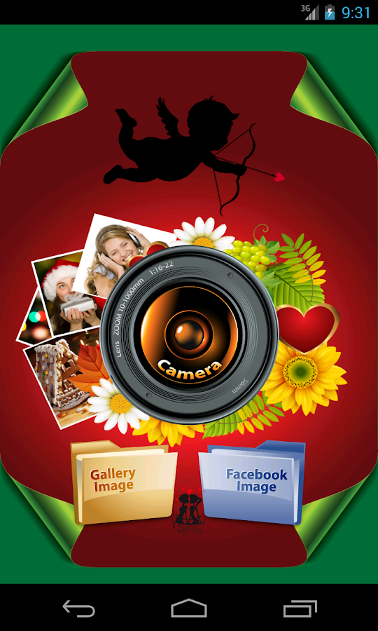 Retro Camera Live Collage - screenshot