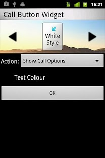 Call Button Widget - screenshot thumbnail