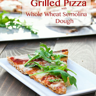 Grilled Pizza with Homemade Pizza Dough