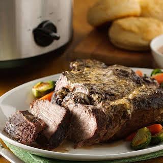 Slow-Cooker Garlic Beef Roast.