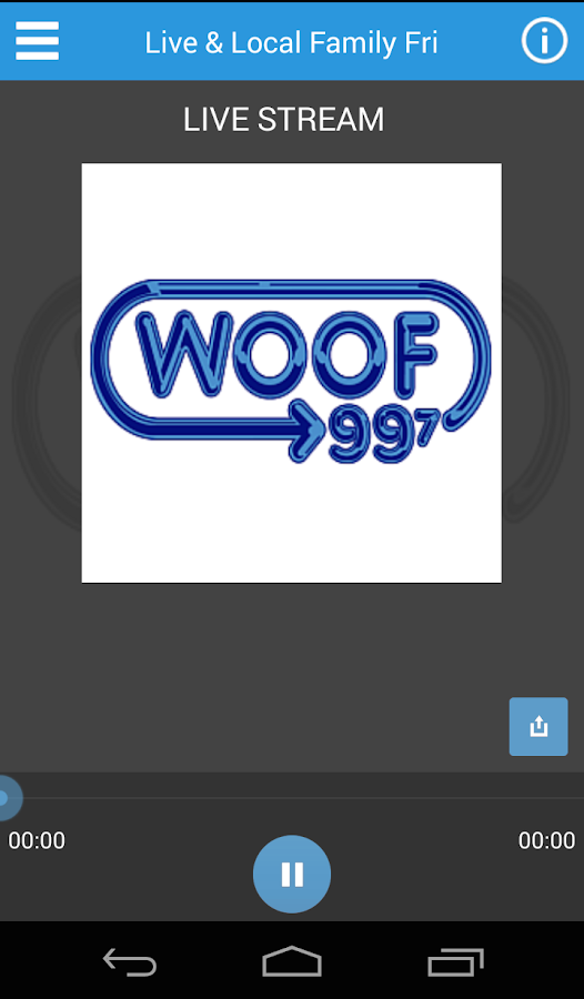 WOOF FM- screenshot
