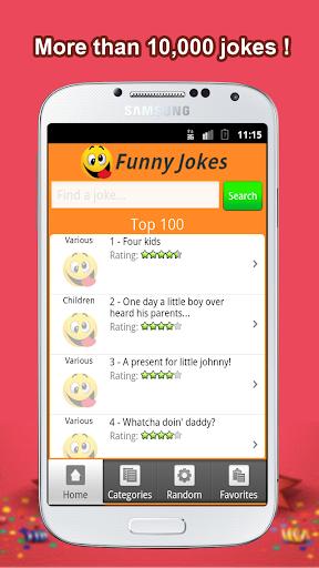 Funny Jokes +10 000