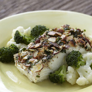 Fish Fillets with Almonds.