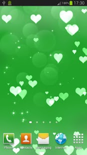 Hearts Live Wallpaper - screenshot thumbnail